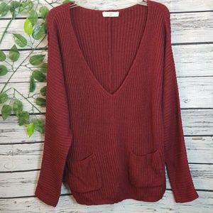 Anthropologie Elodie oversized slouch sweater Sml